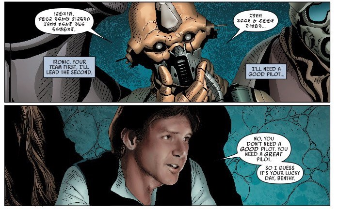 'Star Wars Vol. 7: The Ashes of Jedha' review: Clear character arcs for Han, Luke, and Leia