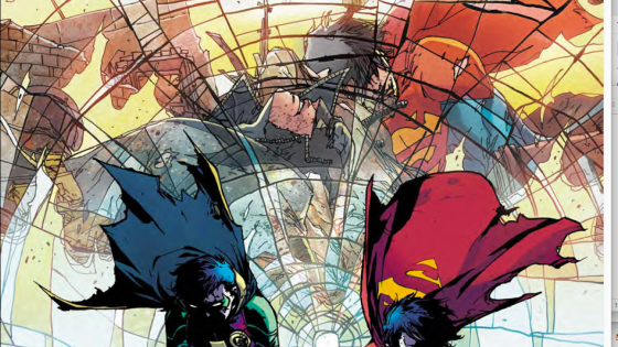 We get a glimpse of DC Comics past and future in Super Sons #12
