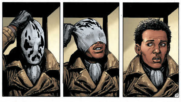 New details emerge about Rorschach's origins in Doomsday Clock #3