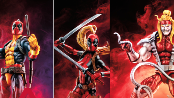 Deadpool fans are getting a second Marvel Legends wave this year.