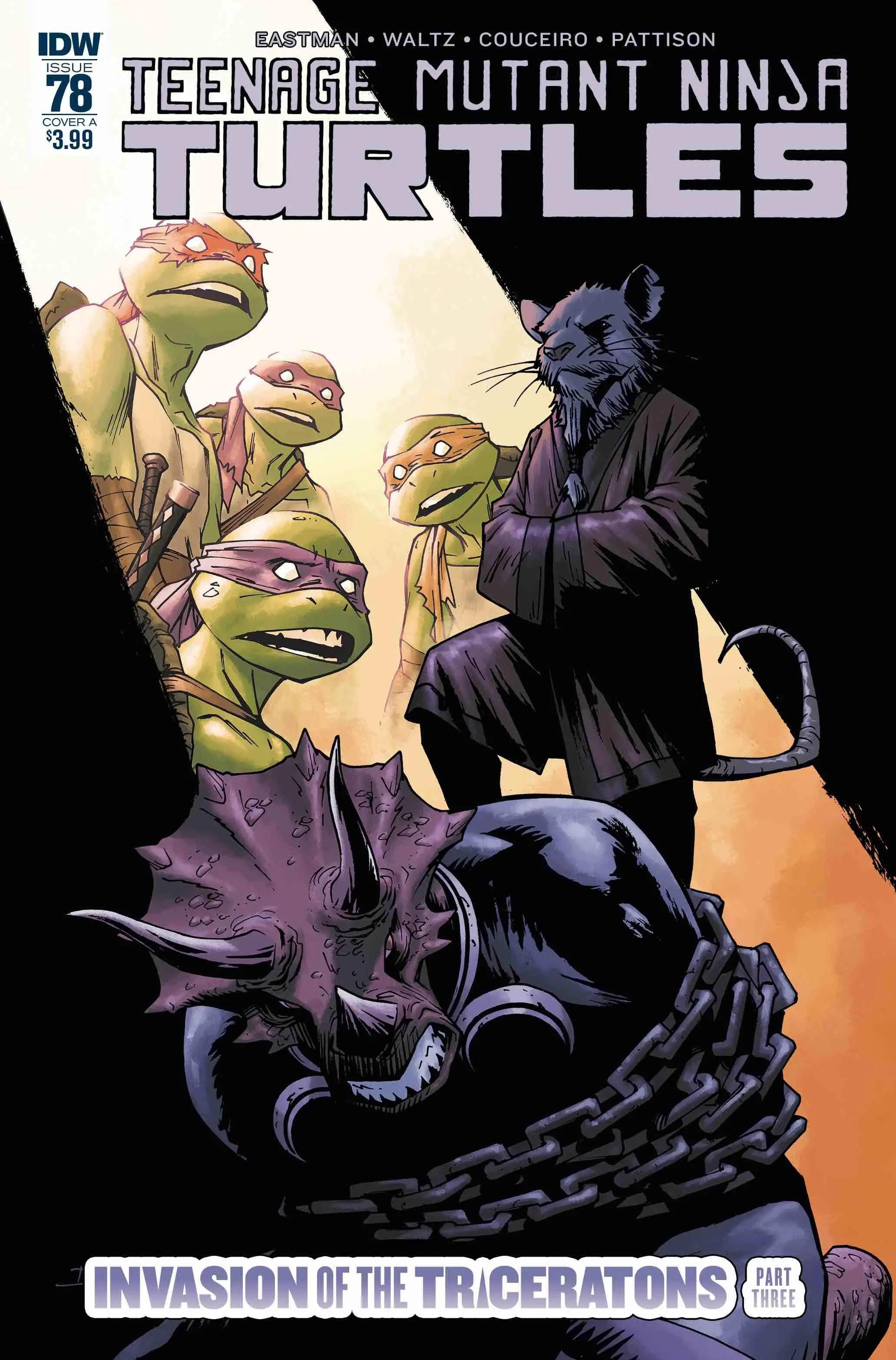 Teenage Mutant Ninja Turtles #78 Review