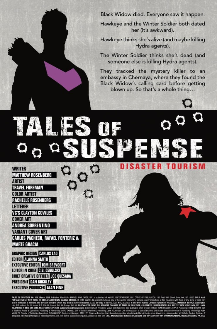 Marvel Preview: Tales of Suspense #101