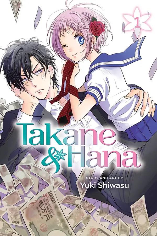 "Viz Media to publish new romantic comedy manga ""Takane & Hana"""