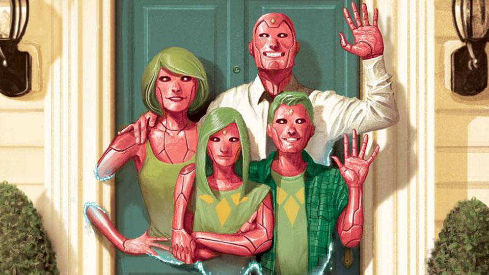 'The Vision: Hardcover Edition' is a collection every comic book reader needs to own