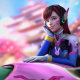 Overwatch's D.Va is the latest character to tease a new legendary skin
