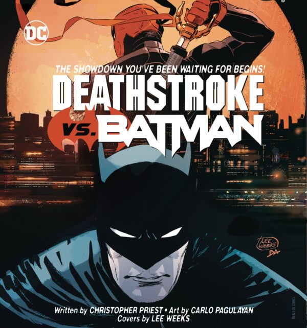 'Deathstroke vs. Batman' series from Priest and Carlo Pagulayan slated for April