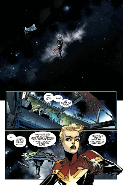 Where did the Earth go in Avengers #675? There may be clues.
