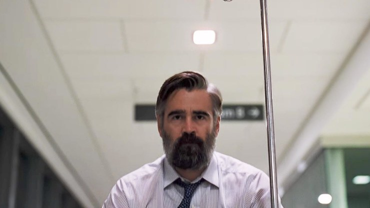 Sacred Deer is the suspenseful tale of cardiologist Steven Murphy (Firth) who has a mysterious friendship that forces him to make a difficult choice.