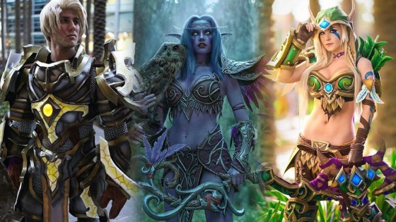 The Battle for Azeroth looms. So let's celebrate with some amazing WoW cosplay!