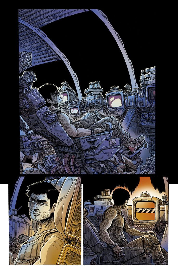 'Aliens: Dead Orbit' is a claustrophobic love letter to the 1979 classic