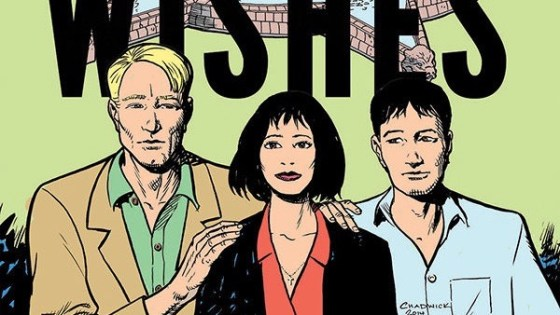 Dark Horse Comics founder Mike Richardson discusses his new graphic novel 'Best Wishes'