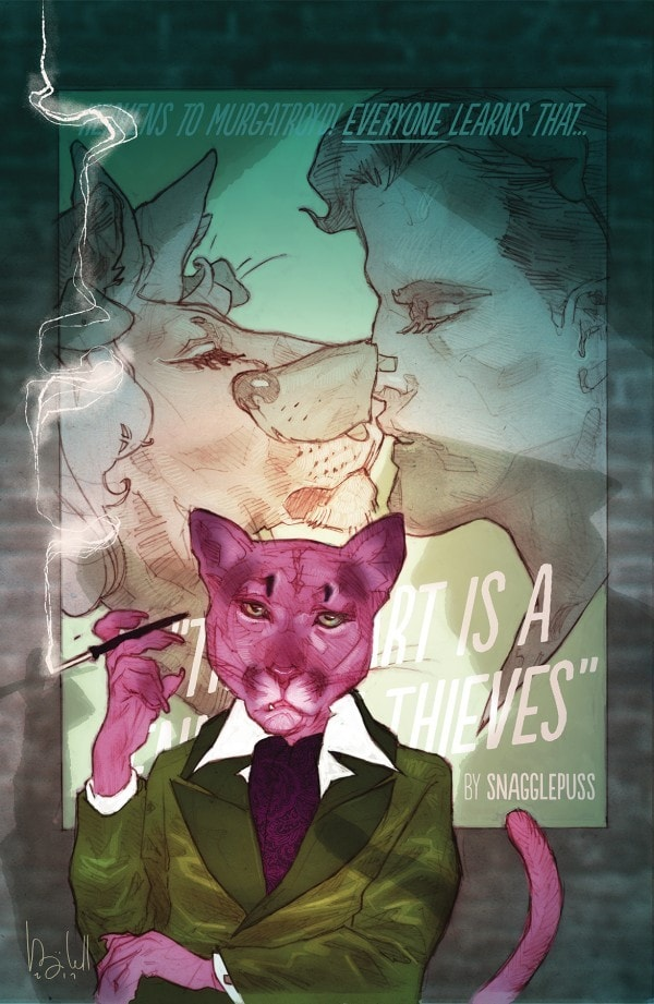 Exit Stage Left: The Snagglepuss Chronicles #2 Review