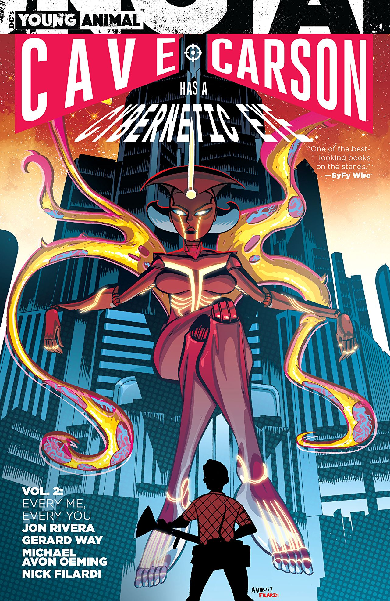 'Cave Carson has a Cybernetic Eye Vol. 2: Every Me, Every You' is extravagant, but largely incoherent