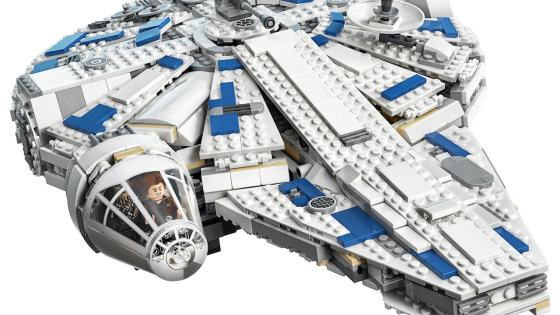 LEGO unveils a new Millennium Falcon for the 'Solo: A Star Wars Story' release.