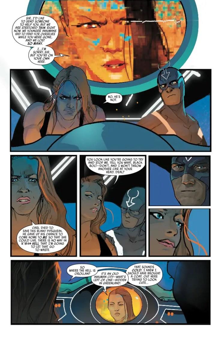 Marvel Preview: Black Bolt #10