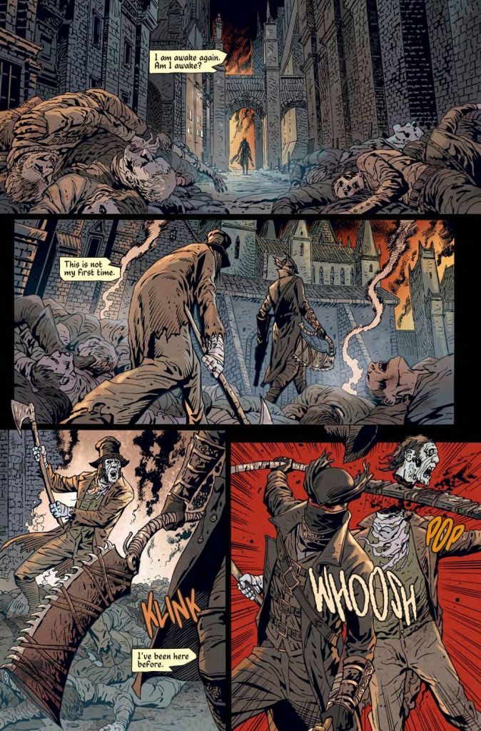 Bloodborne: The Death of Sleep #1 Review