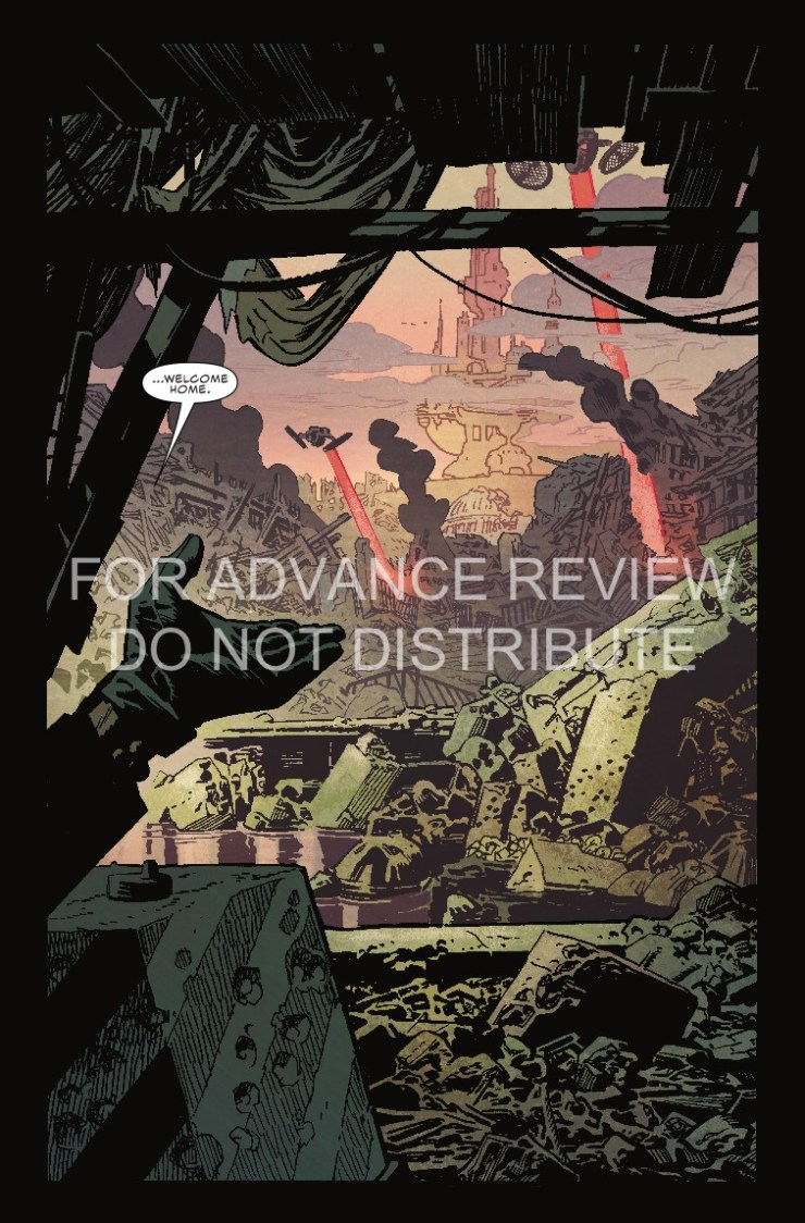 Marvel Preview: Captain America #698