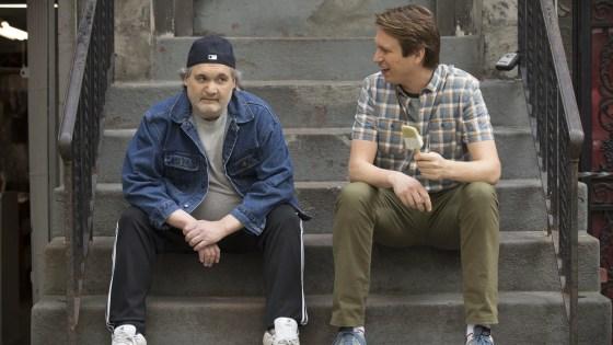 Artie Lange's real-life drug addiction takes center stage on this Sunday's 'Crashing'
