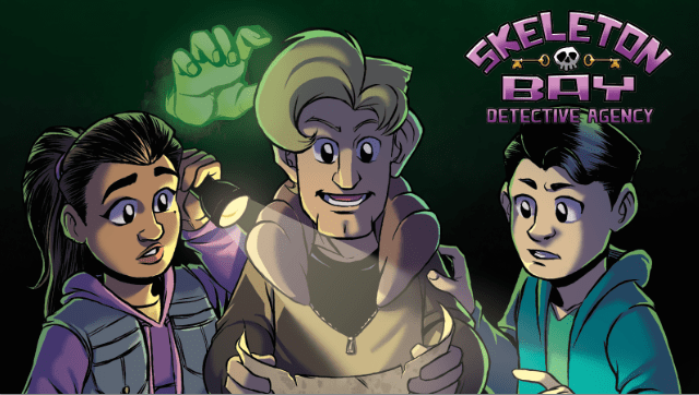 Kickstarter Alert: Help the creators of young adult comic 'Skeleton Bay Detective Agency' fund their first graphic novel