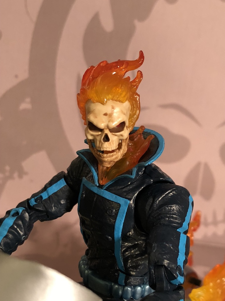 Unboxing/Review Marvel Legends Series 6-inch Ghost Rider with Flame Cycle
