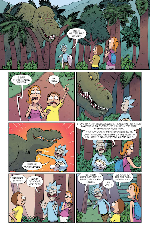 Rick and Morty #35 Review