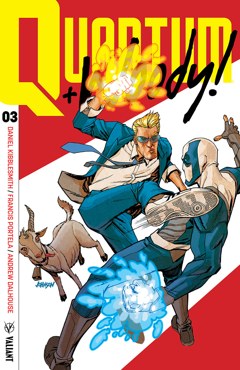 Quantum and Woody #3 Review