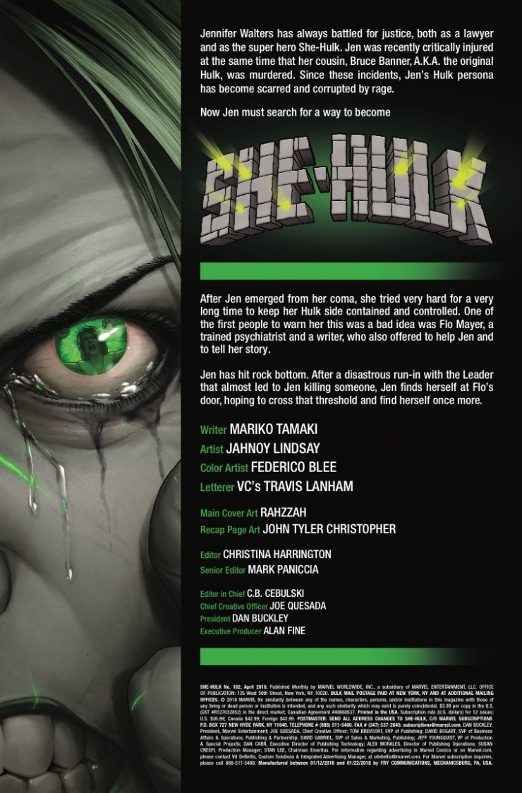 Marvel Preview: She-Hulk #162