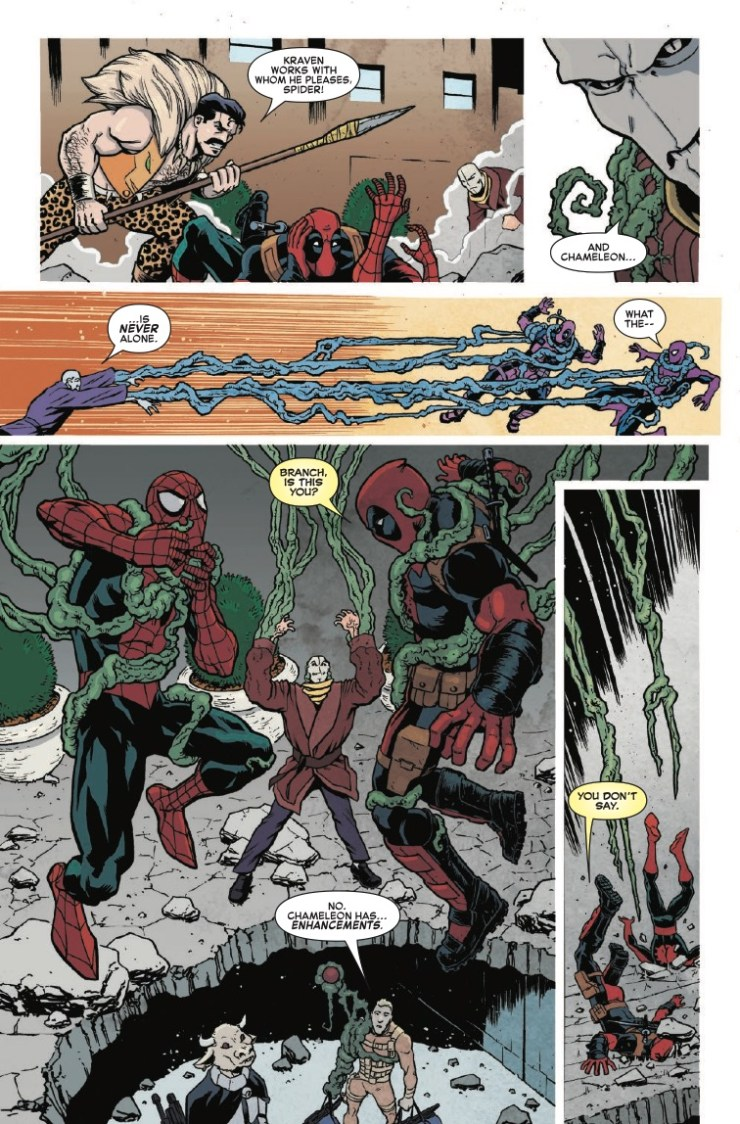 Marvel Preview: Spider-Man/Deadpool #28