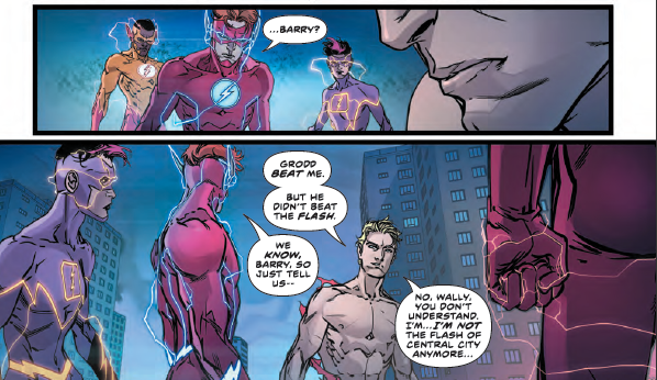 'The Flash' #40 reveals a new official Flash of Central City