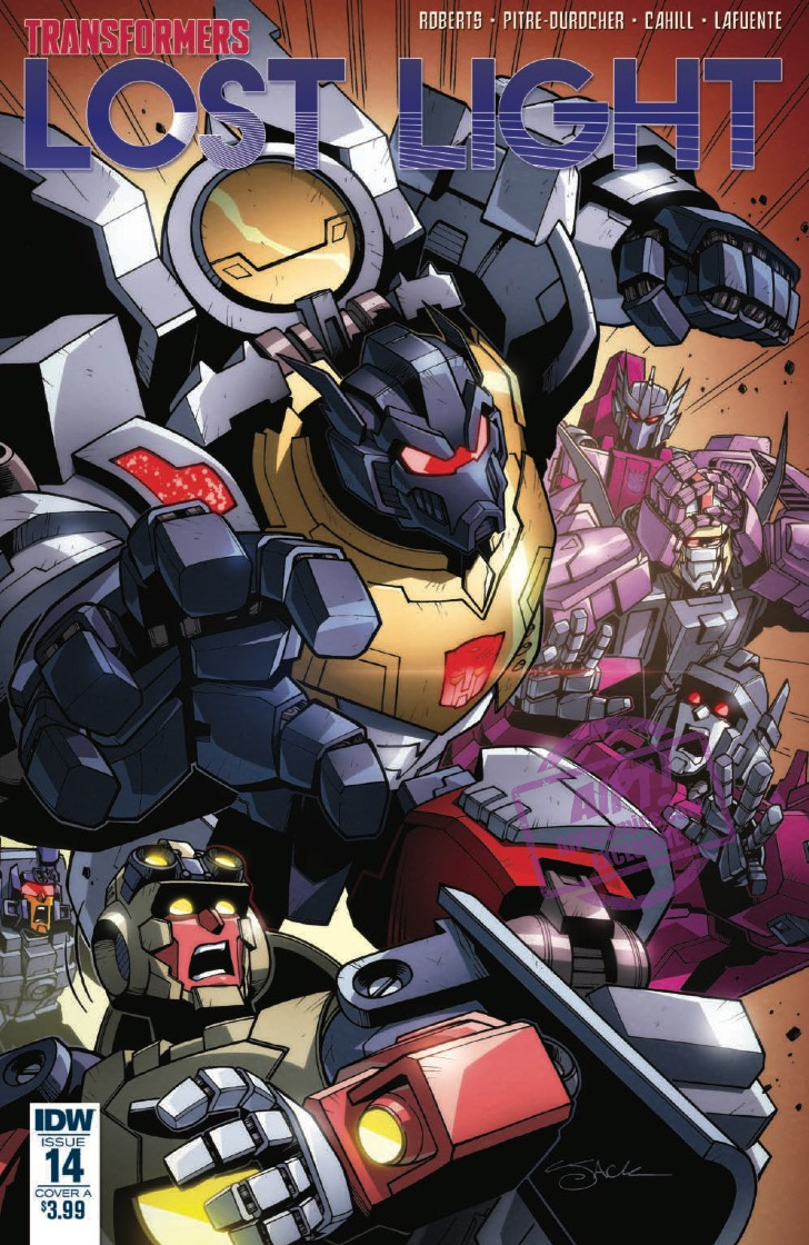 [EXCLUSIVE] IDW Preview: Transformers: Lost Light #14