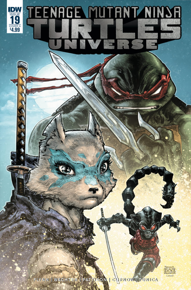 Teenage Mutant Ninja Turtles Universe #19 Review