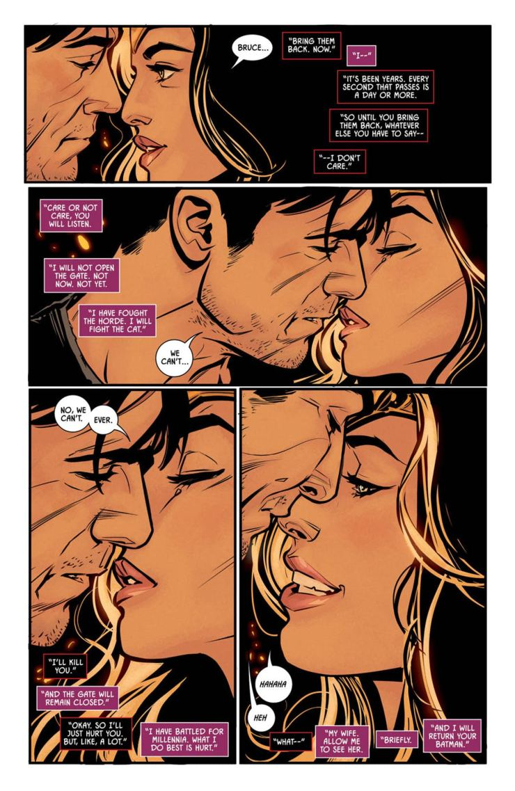 Batman #40 review: Can anything or anyone tear Bat and Cat's love apart?