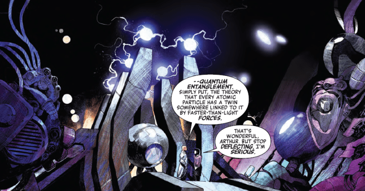 """Reality Check:  The """"quantum entanglement"""" of Avengers #681"""