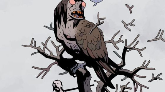 I can't get enough of the characters, the art, and the deep folktale roots Mignola's story has.