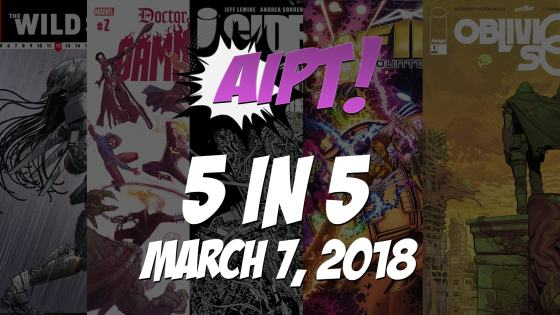 Introducing 5 in 5, a weekly look at the week's most anticipated comic books