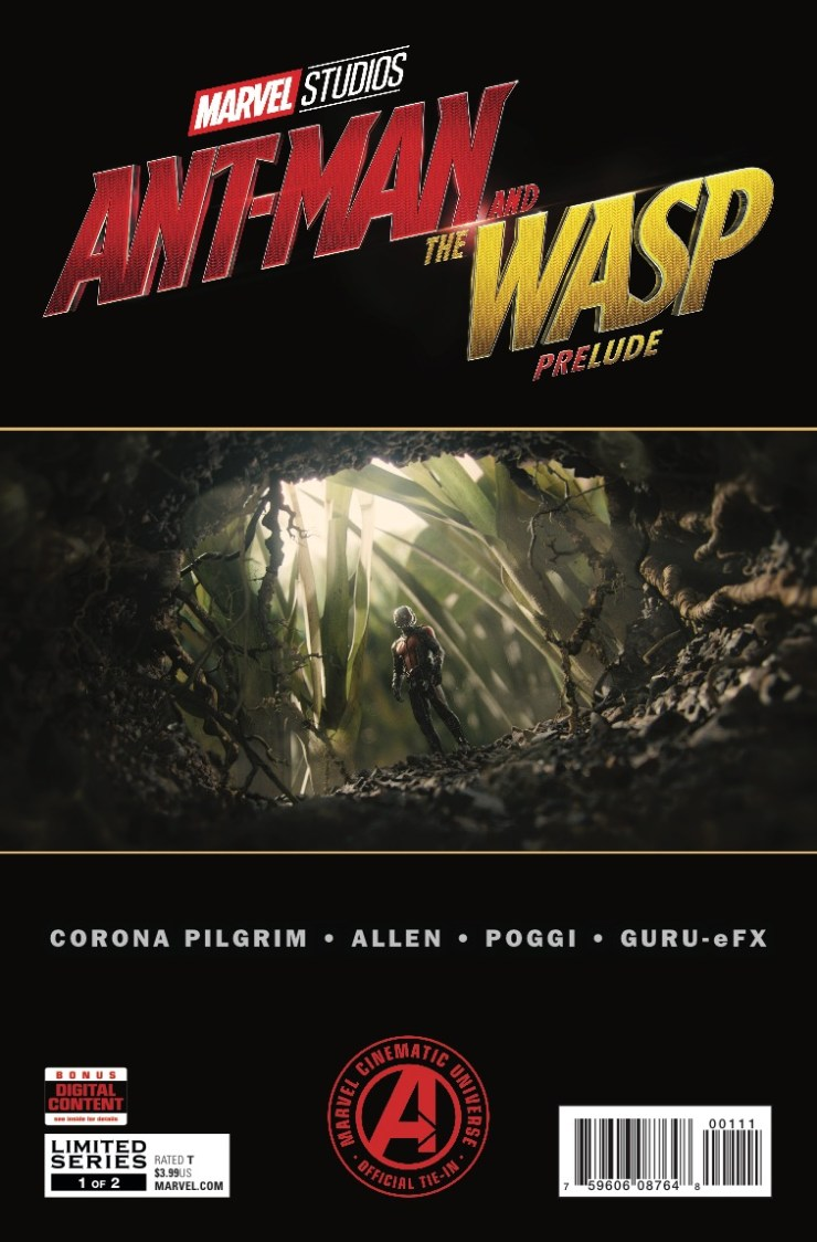 Marvel Preview: Marvel's Ant-Man and the Wasp Prelude #1