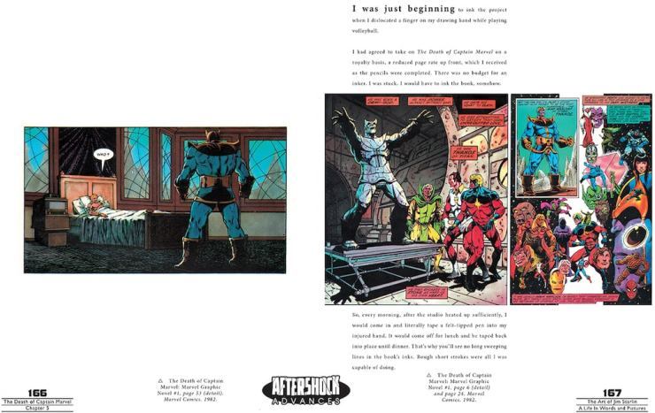 AfterShock Preview: The Art of Jim Starlin: A Life in Words and Pictures HC