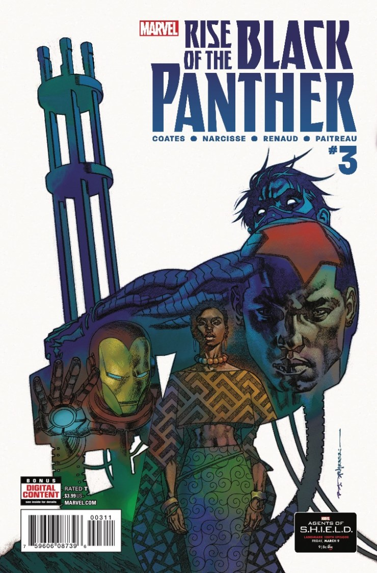 Marvel Preview: Rise of the Black Panther #3