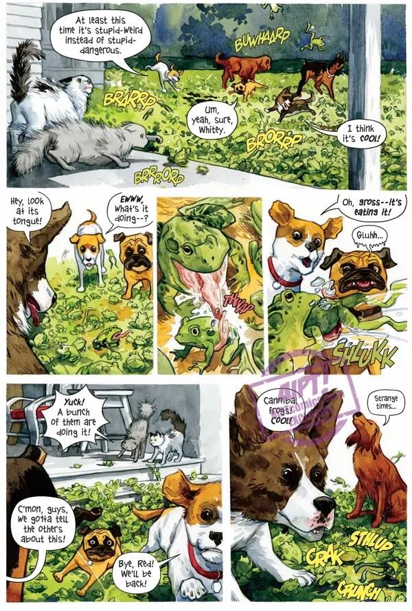 [EXCLUSIVE] Dark Horse Preview: Beasts of Burden Animal Rites Paperback