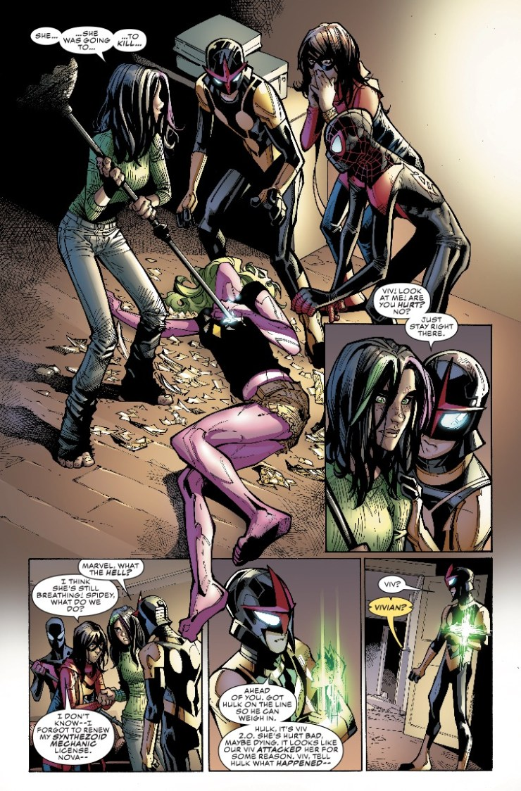 Marvel Preview: Champions #18