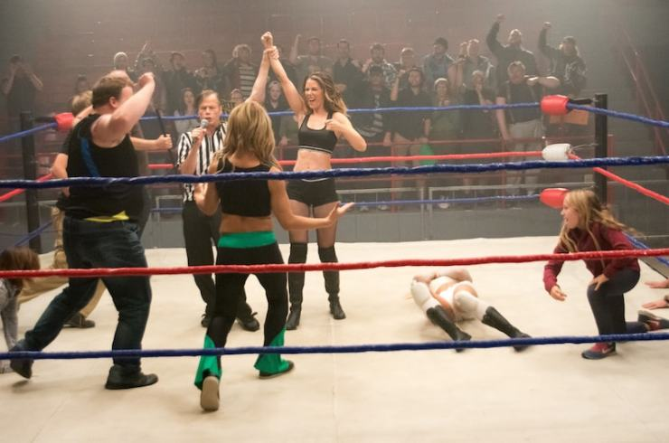 'Chokeslam' review: A surprisingly good pro wrestling-based rom-com