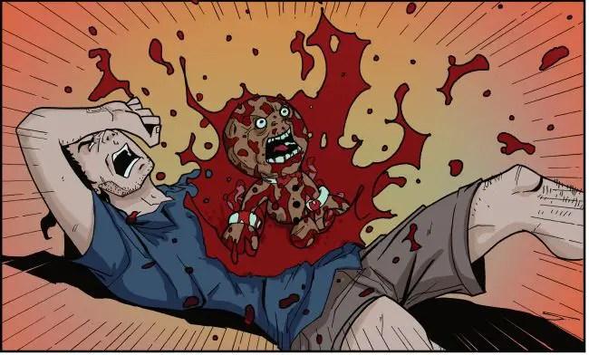 The Gingerdead Man Meets Evil Bong #1 Review