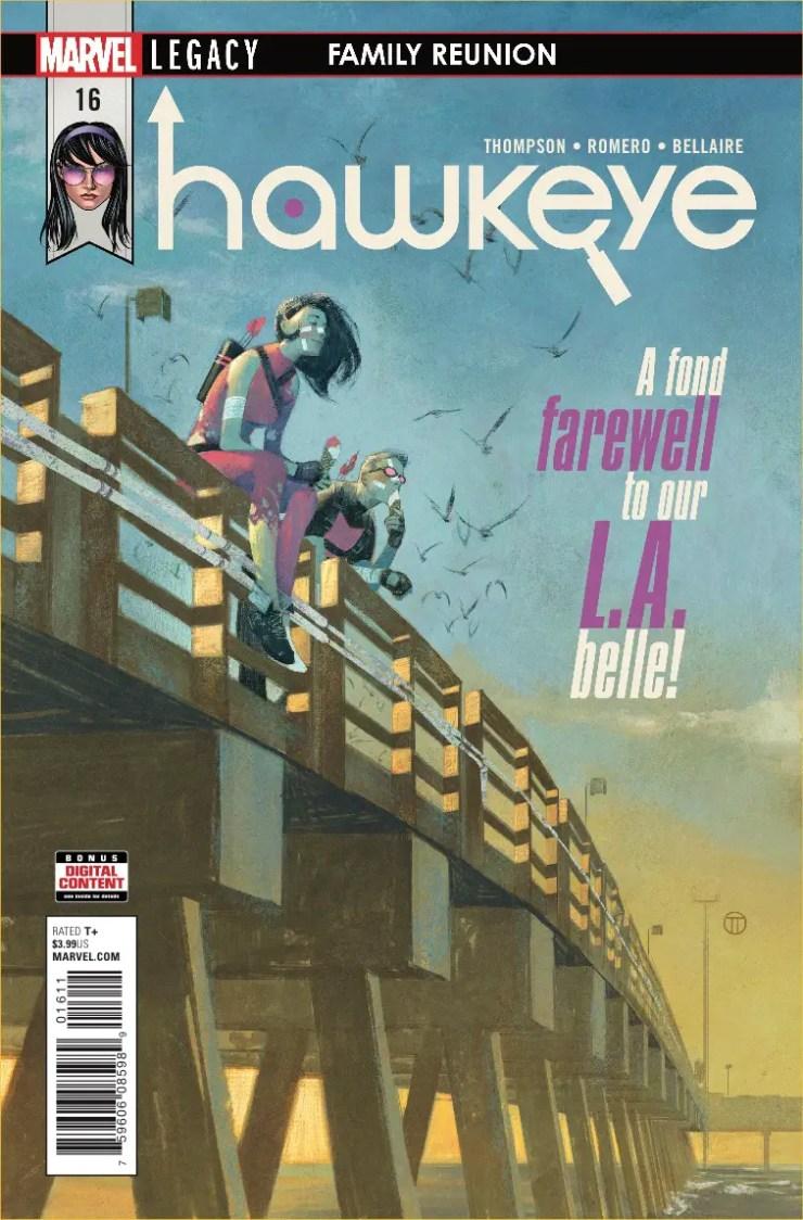 Marvel Preview: Hawkeye #16