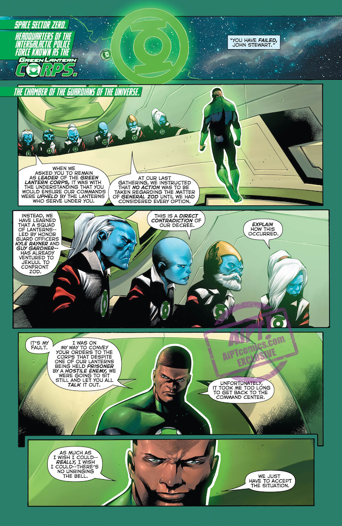 [EXCLUSIVE] DC Preview: Hal Jordan and the Green Lantern Corps #40