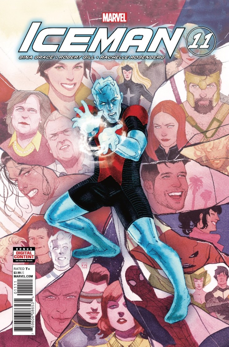 Marvel Preview: Iceman #11
