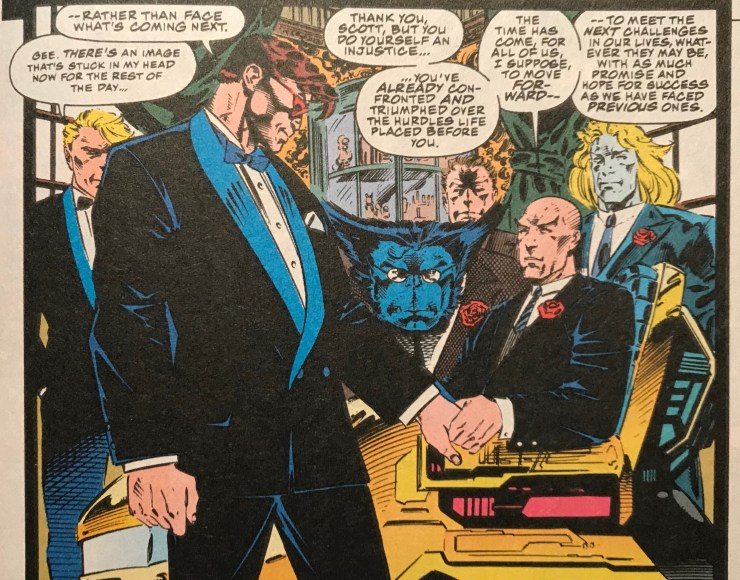 Revisiting the wedding of Cyclops and Jean Grey with X-Men writer Fabian Nicieza