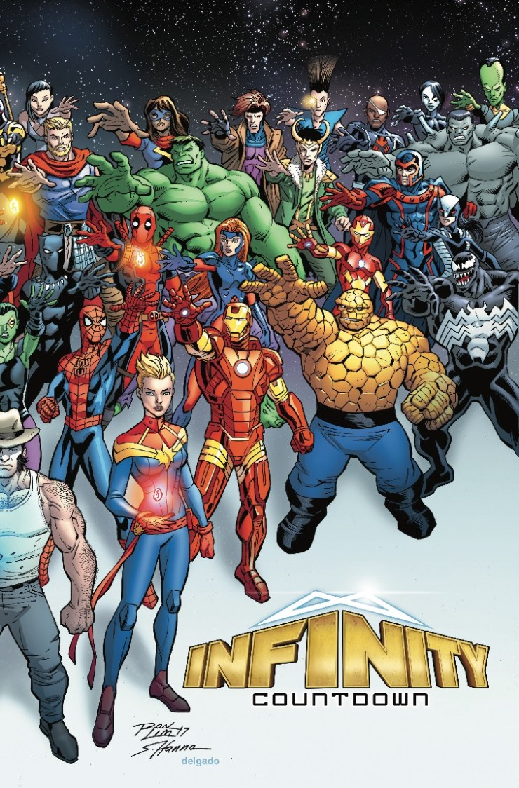Marvel Preview: Infinity Countdown #1