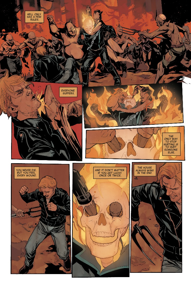 Johnny Blaze: Ghost Rider #1 Review