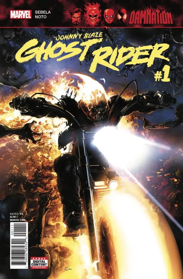Marvel Preview: Johnny Blaze: Ghost Rider #1
