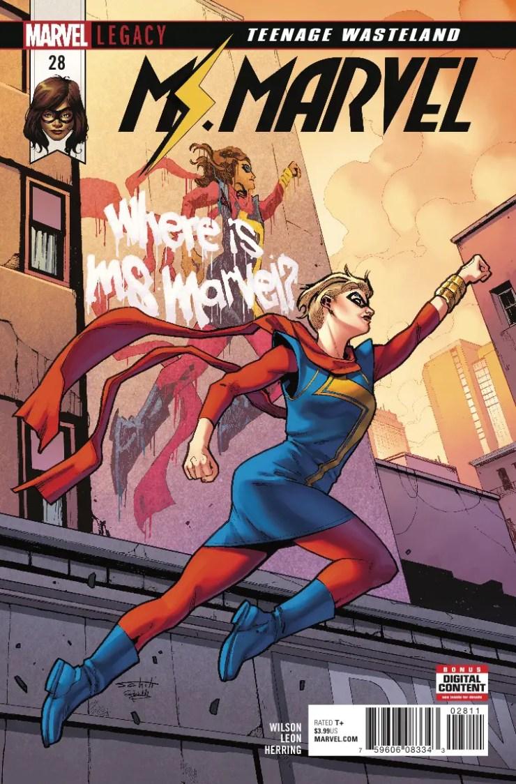 Marvel Preview: Ms. Marvel #28